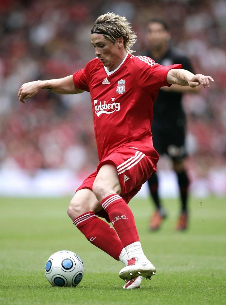 Best Liverpool Kits In The Premier League Era Fernando Torres