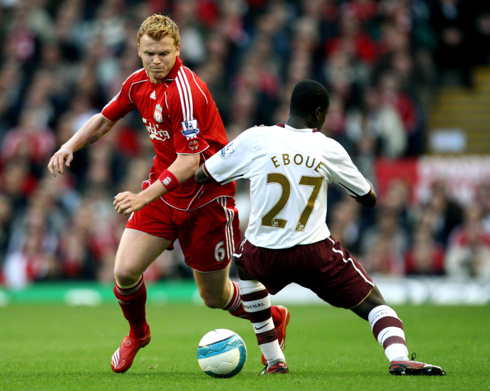 John Arne Riise is one of the best Liverpool left backs ever.