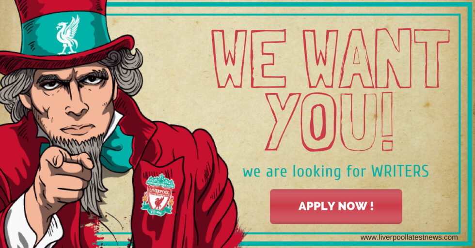 Write for Liverpool Latest News - Writer Application
