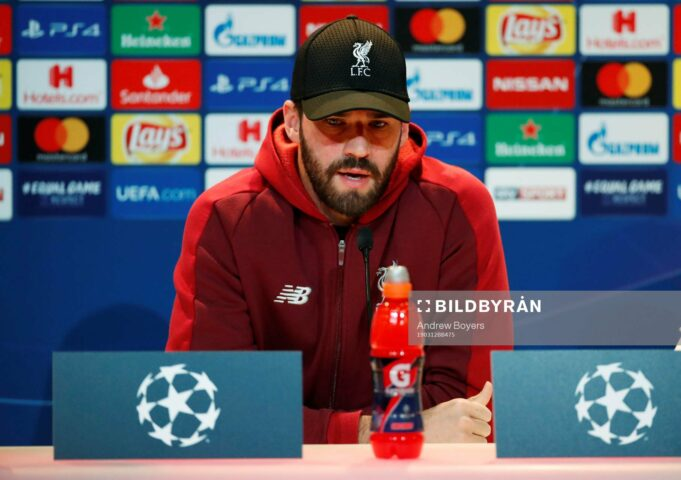Alisson Reveals Jurgen Klopp Is A Father Figure To Every Liverpool Player