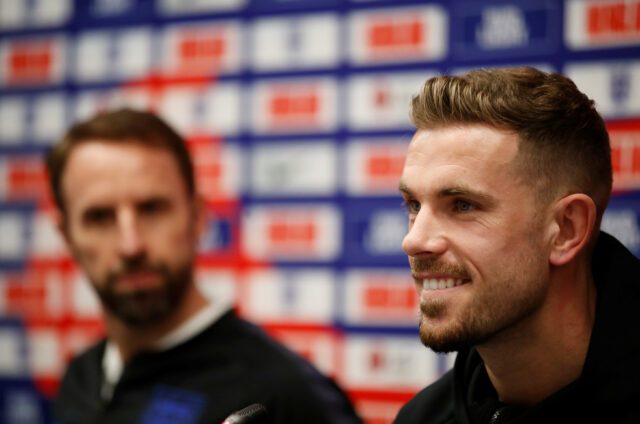 Jordan Henderson Not Concerned About 50th England Appearance