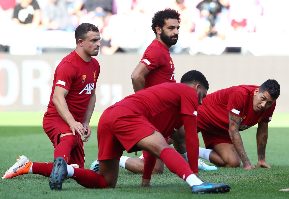 Liverpool Shortest Players 2019