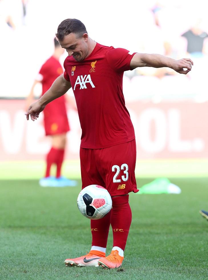 Liverpool Shortest Players Xherdan Shaqiri