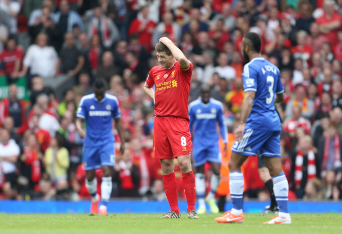 Steven Gerrard Opens Up On His Slip Which Cost Liverpool The Premier League Title