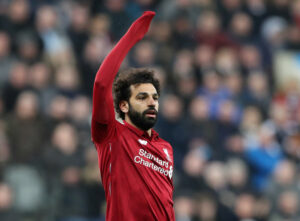 salah liverpool forward