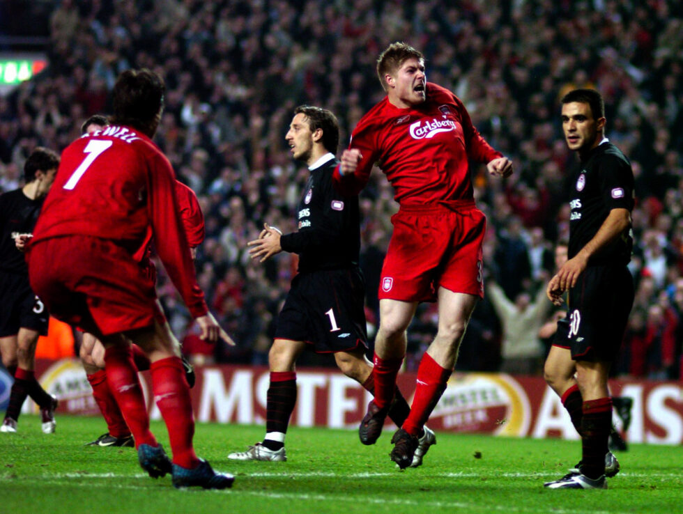 Liverpool Champions League Top Scorer In History -Steven Gerrard