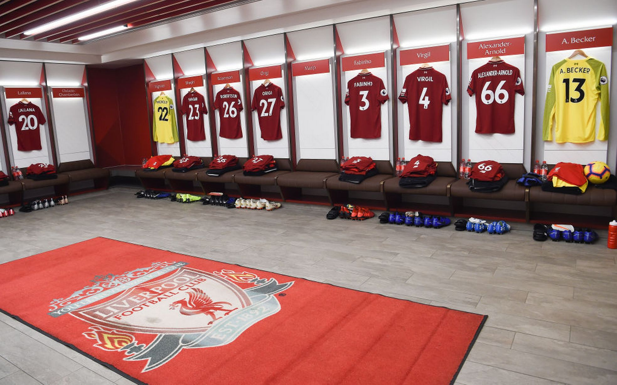 Liverpool-dressing-room facilites