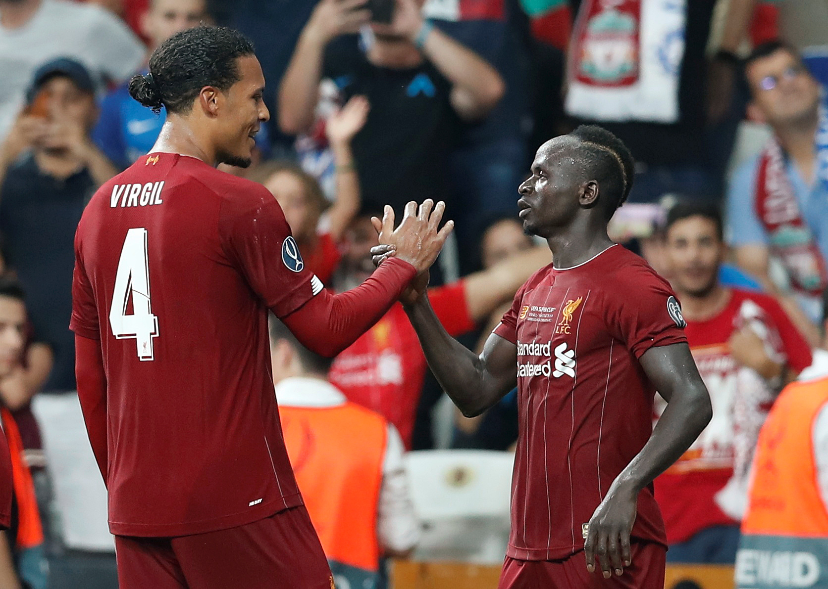 VVD hails Liverpool for important Super Cup win
