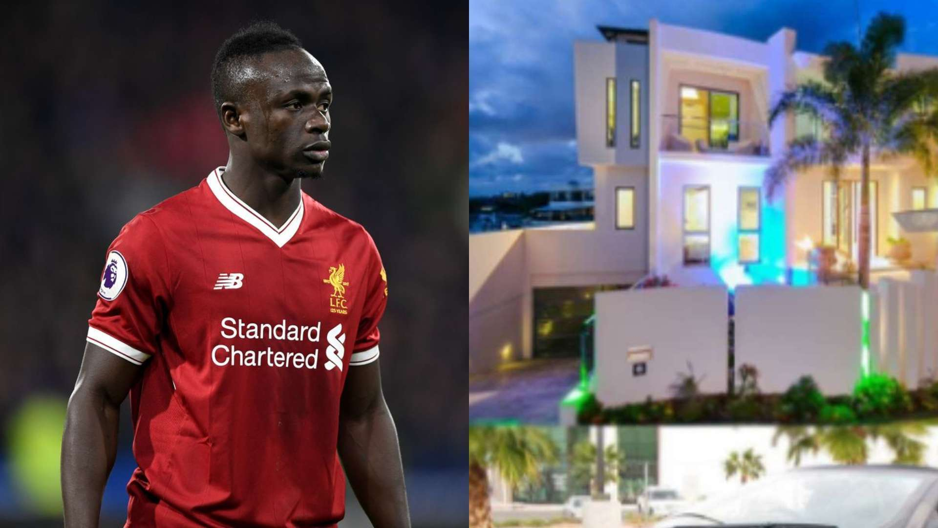 sadio mane house