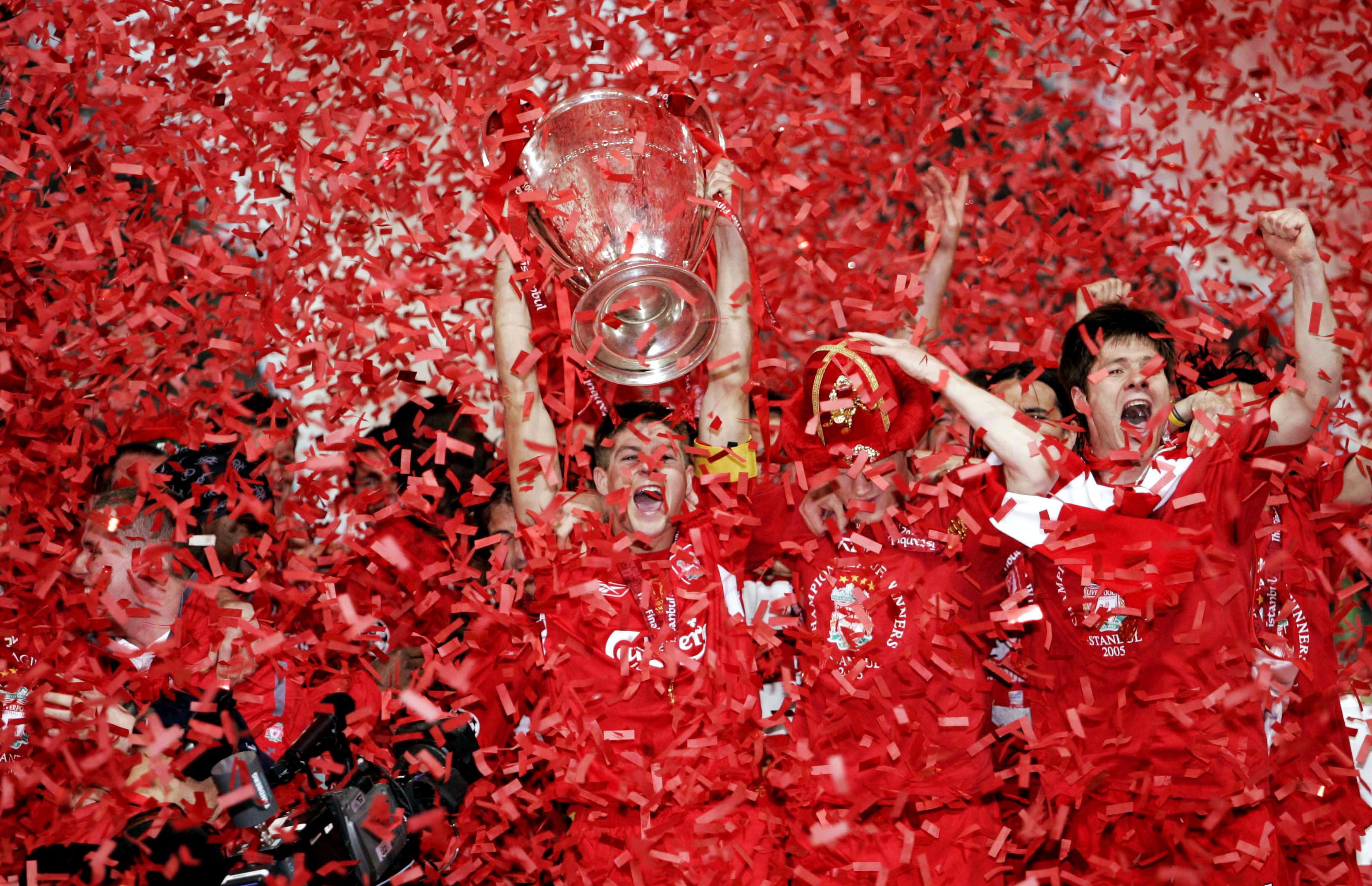 Liverpool: Most Champions League appearances