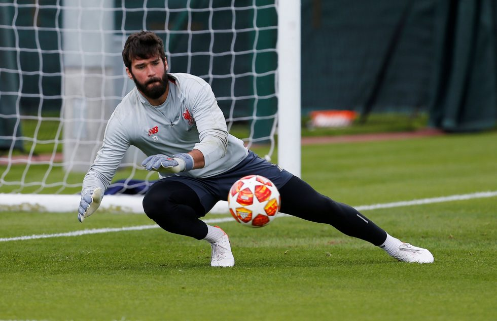 Alisson targeting a return after International break