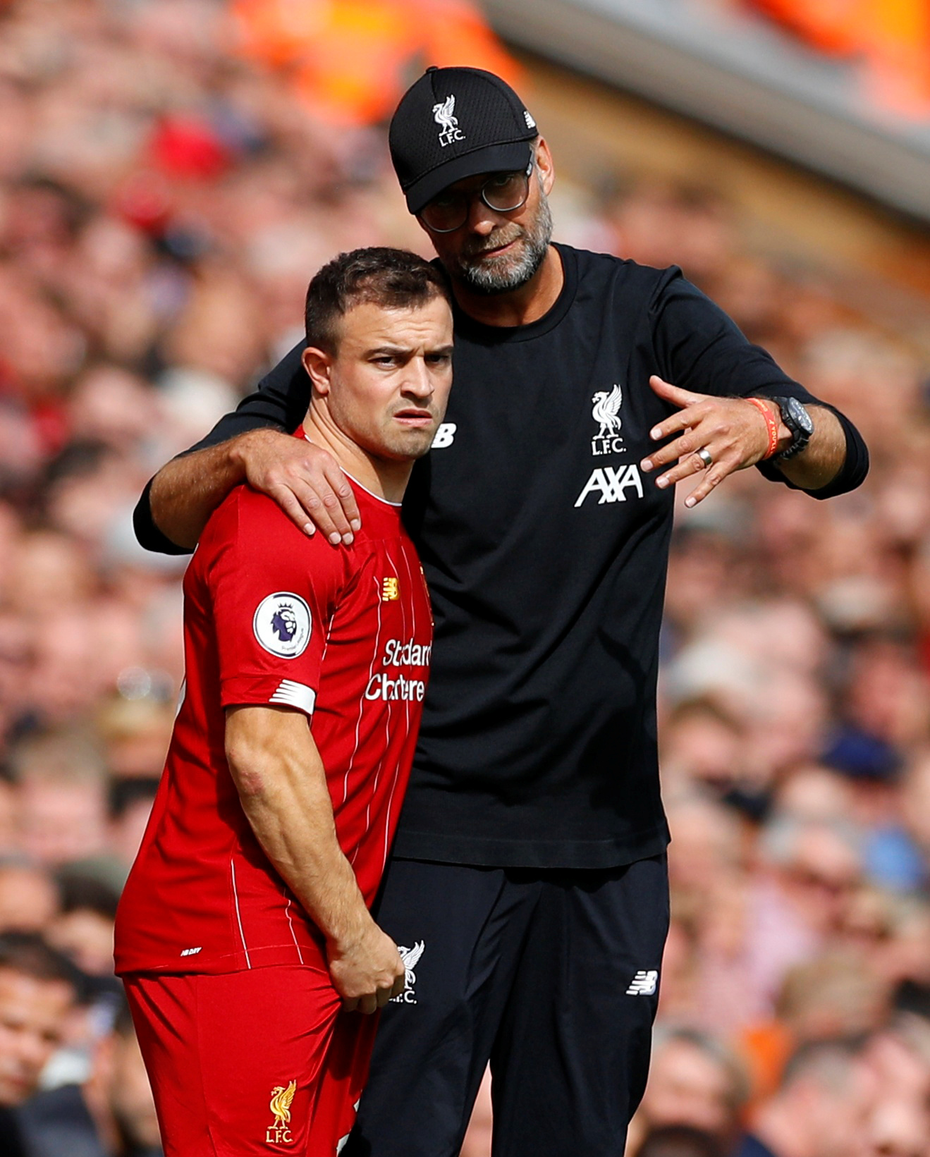 Klopp reveals competition for places in the squad