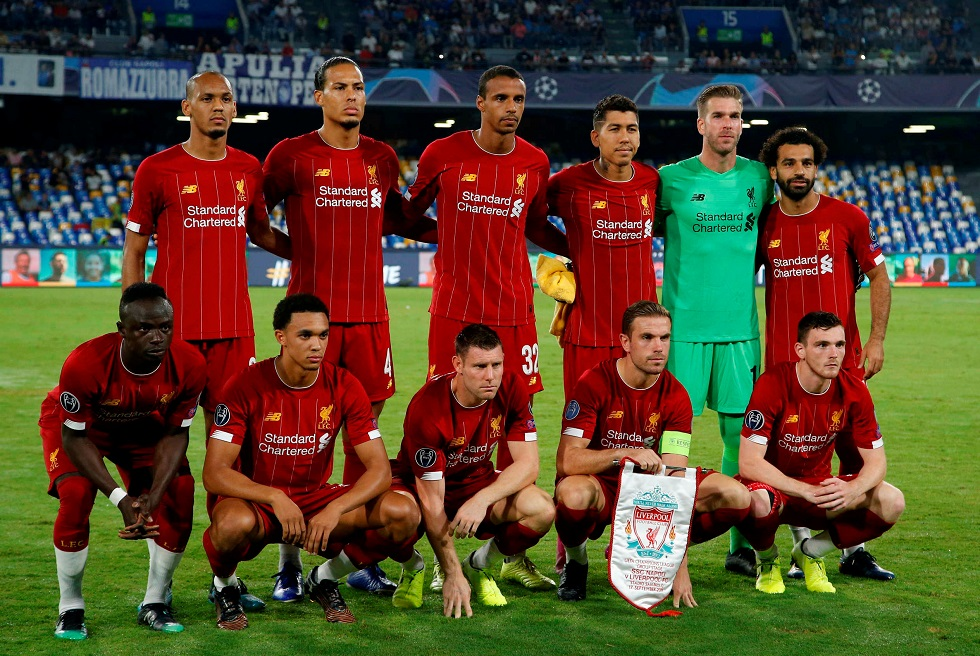 Liverpool Squad, Team, All Players 2019/20