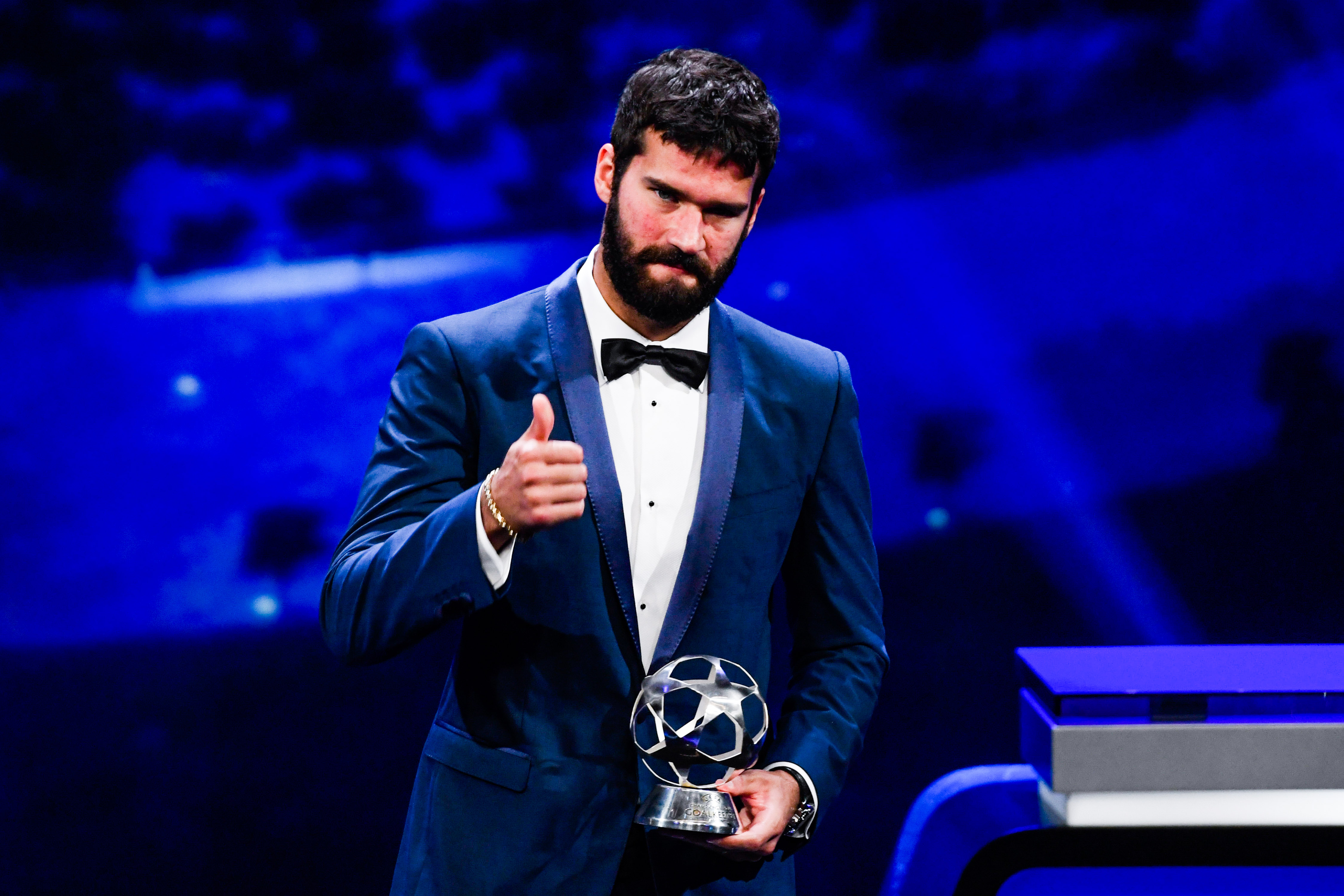 Liverpool keeper hails Alisson