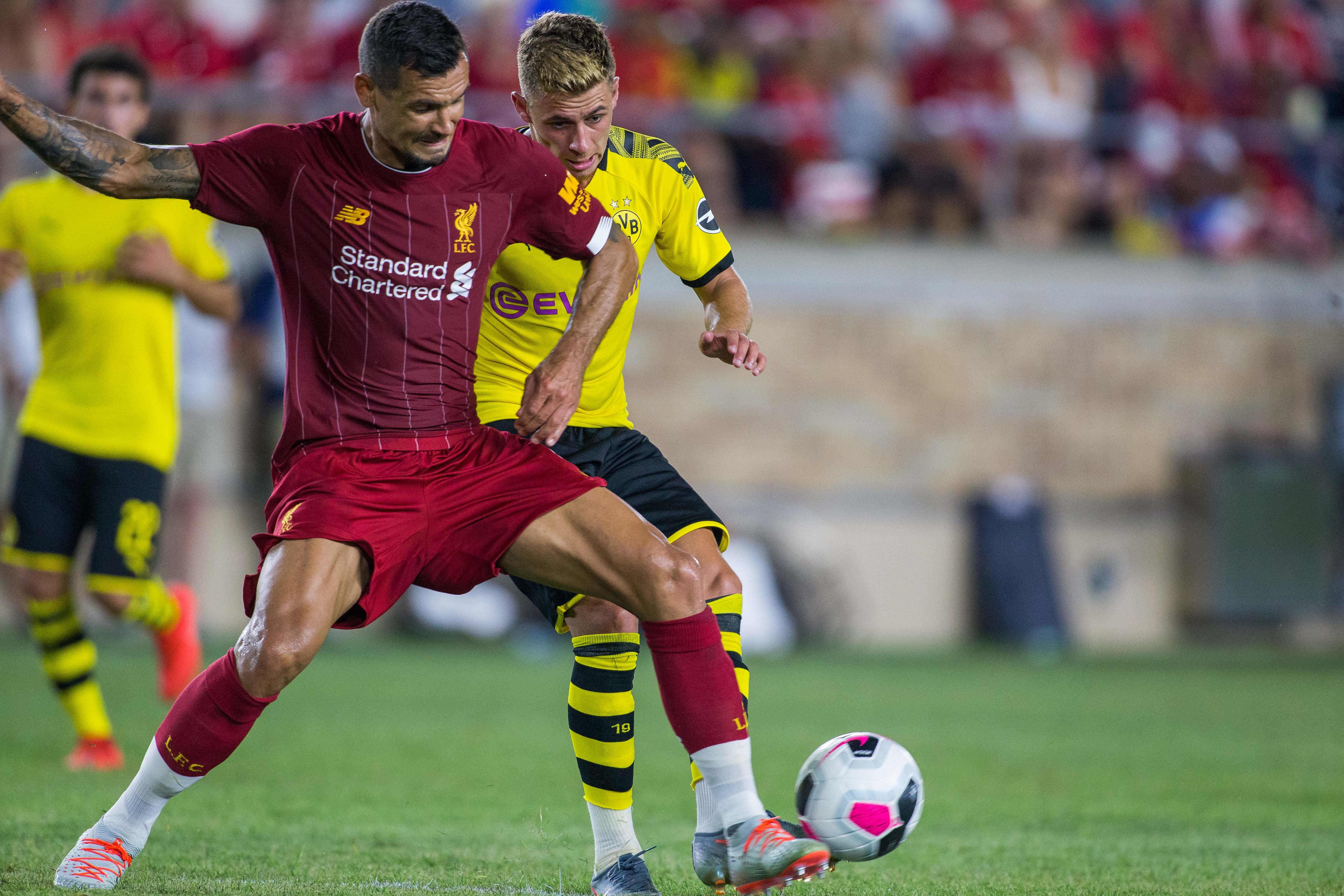 Lovren reveals Klopp talk amidst transfer rumours