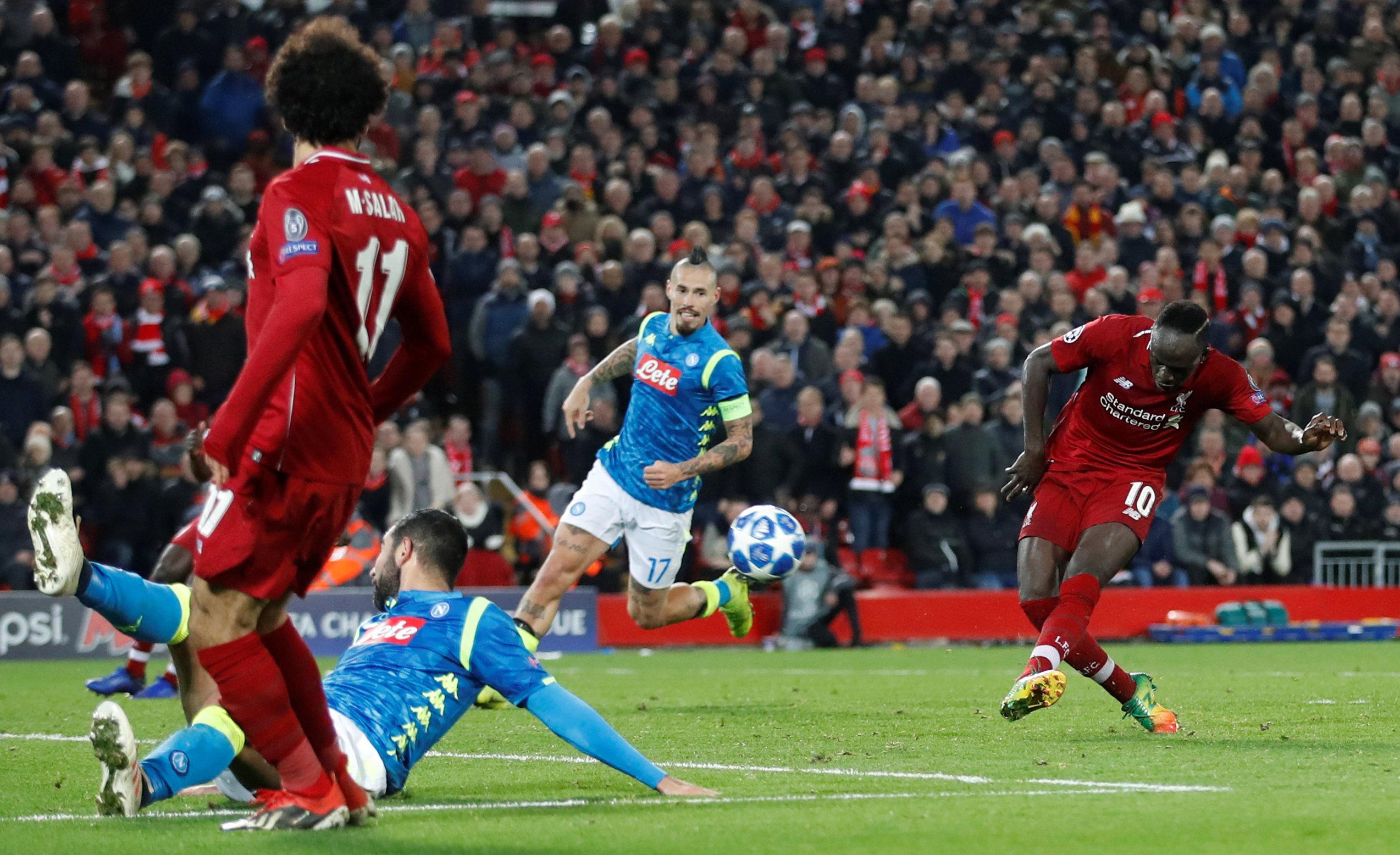 Liverpool Vs Napoli: Last 4 Meetings