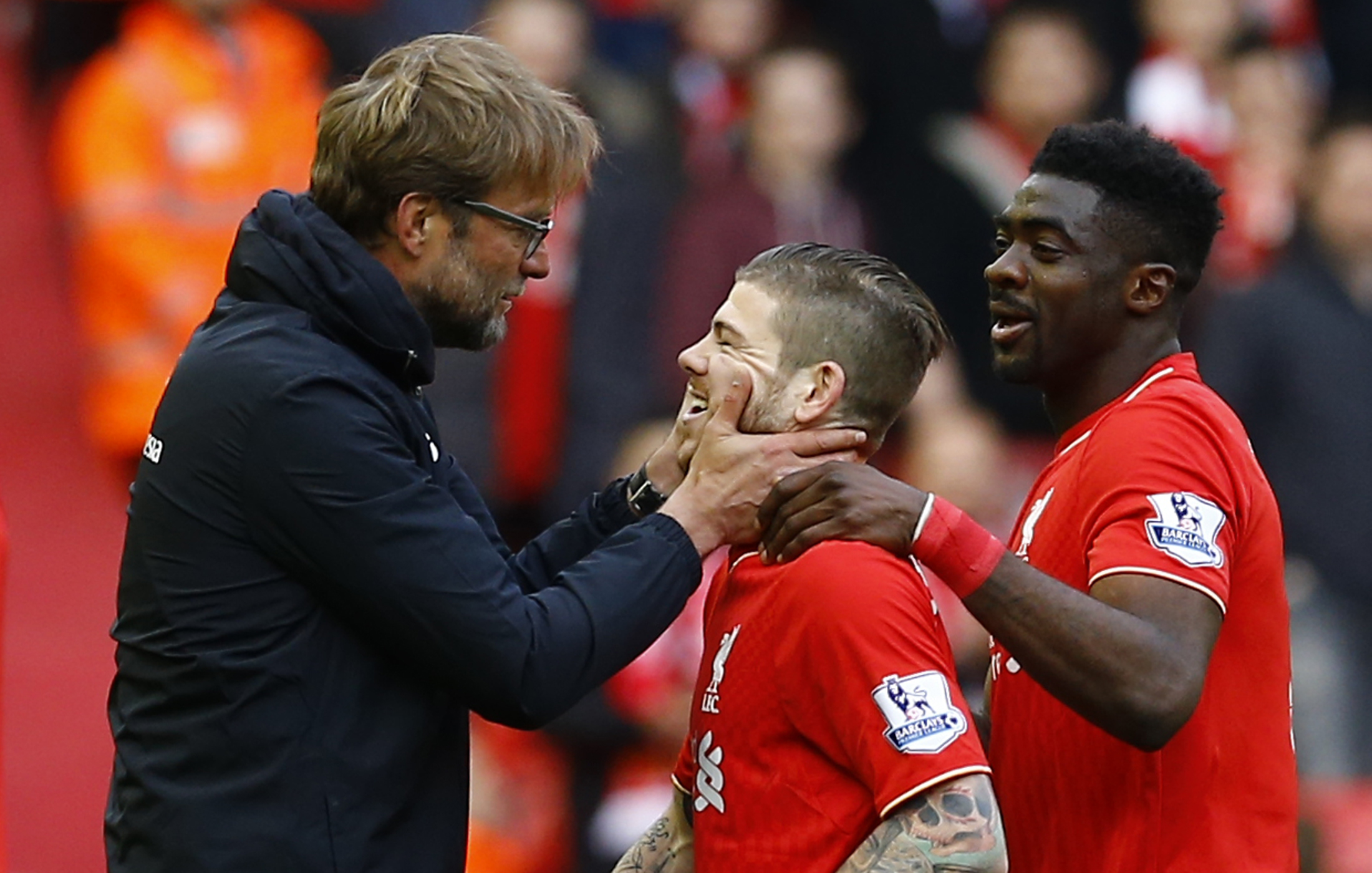 Alberto Moreno lifts lid on relationship with Liverpool boss Jurgen Klopp