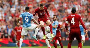 Liverpool vs Manchester City Line Ups