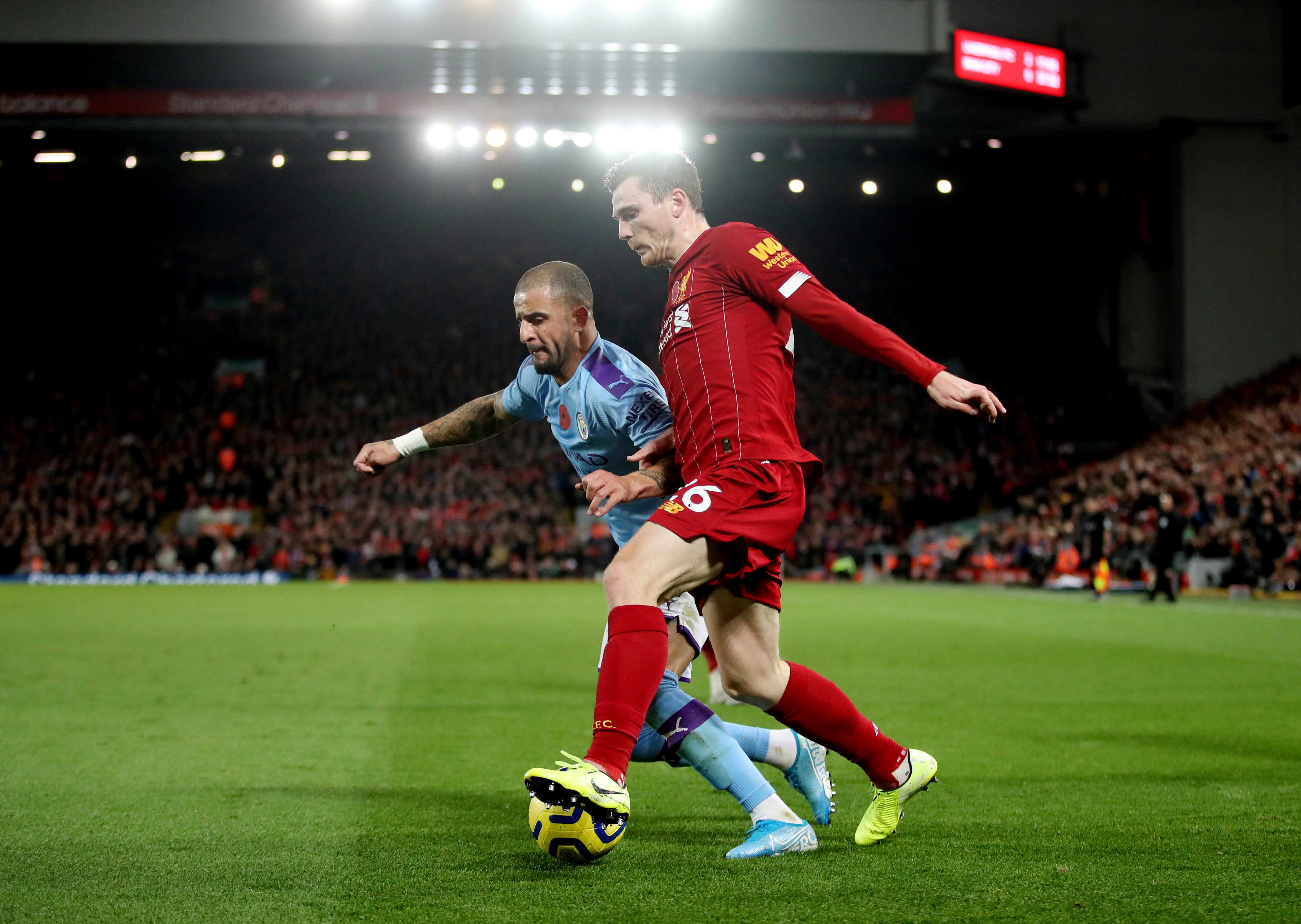 Robertson has a worrying injury update for Liverpool