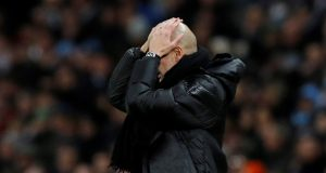 Guardiola admits they are falling behind Liverpool and other giants