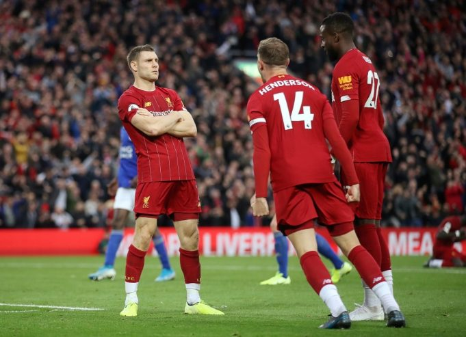 Liverpool vs Leicester City Head To Head Results & Records (H2H)