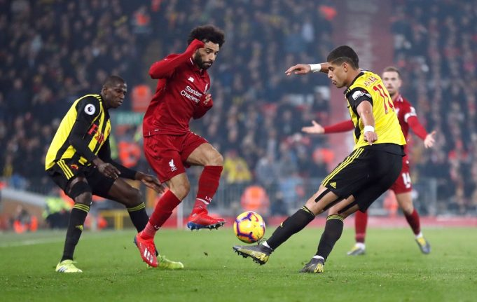 Liverpool vs Watford Head To Head Results & Records (H2H)