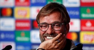 Klopp is having a great New Year's here