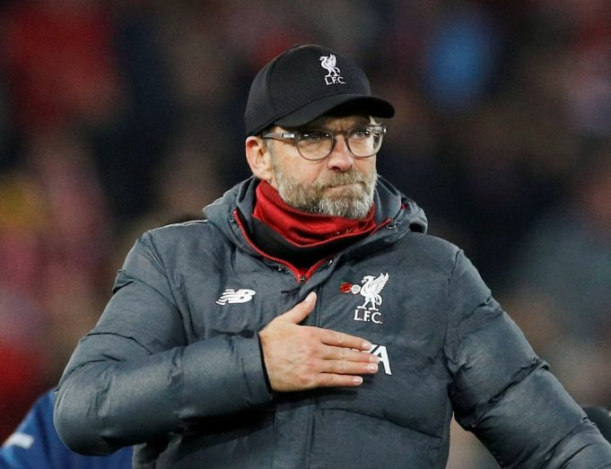 Klopp still feels the same about the PL race after United win.