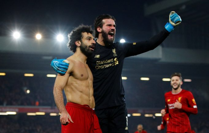 Salah-Alisson combine in lethal move to finish off United