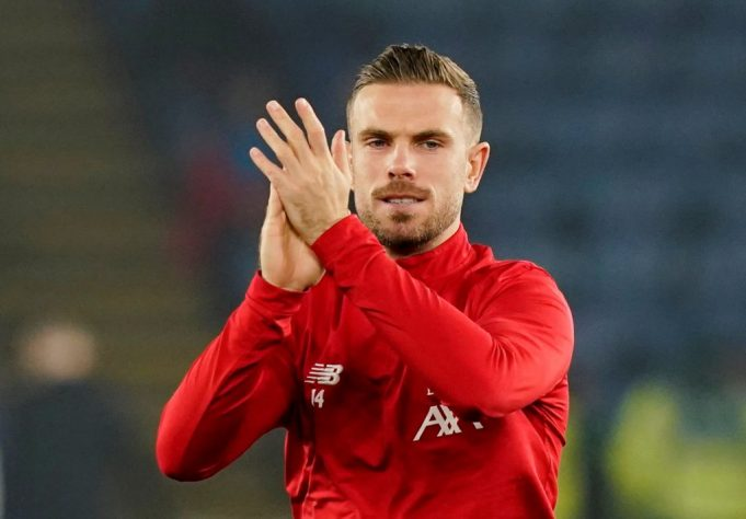 Henderson ruled out for three to four weeks