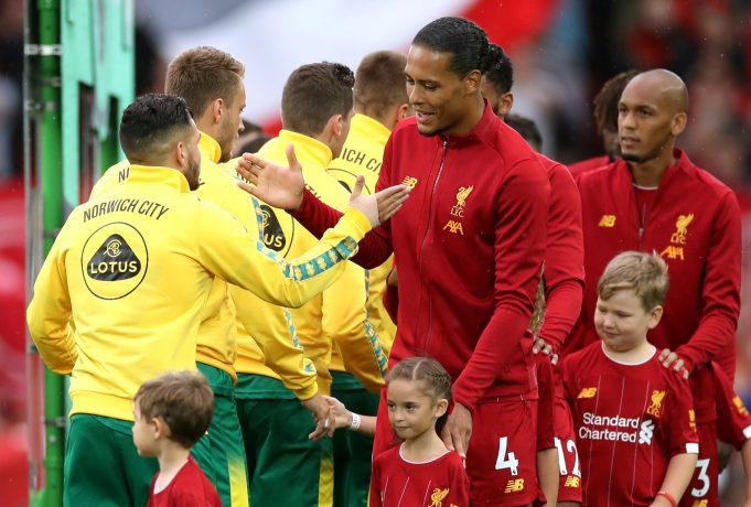 Liverpool vs Norwich City Head to Head