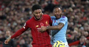 Joe Gomez Admits Altercation With Sterling Was Difficult For Him
