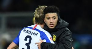 Manchester United Take Out Liverpool In Race For Jadon Sancho