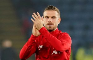 Henderson The weirdest moment would be lifting the title on an empty stadium