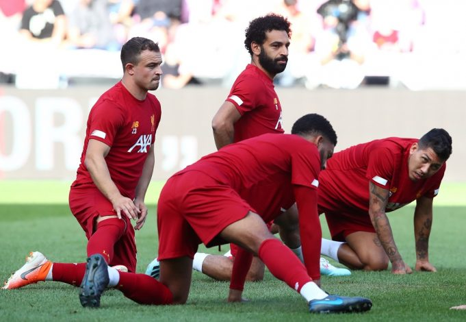 Liverpool Shortest Players 2020