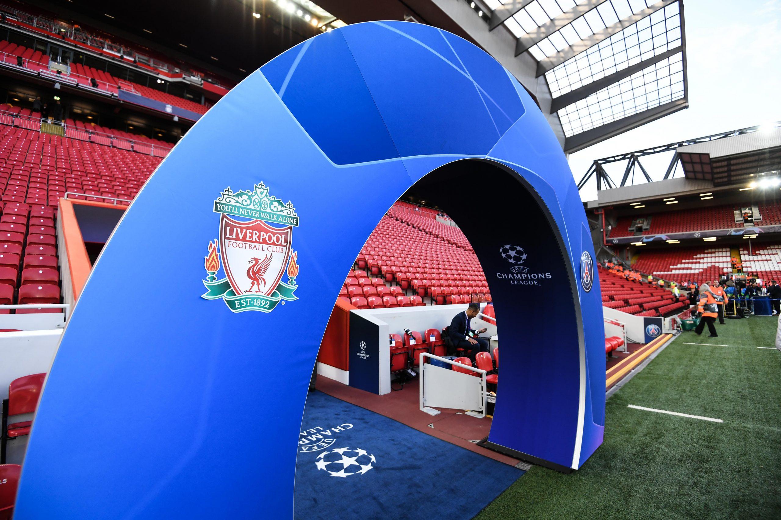 Liverpool U18 team 2020