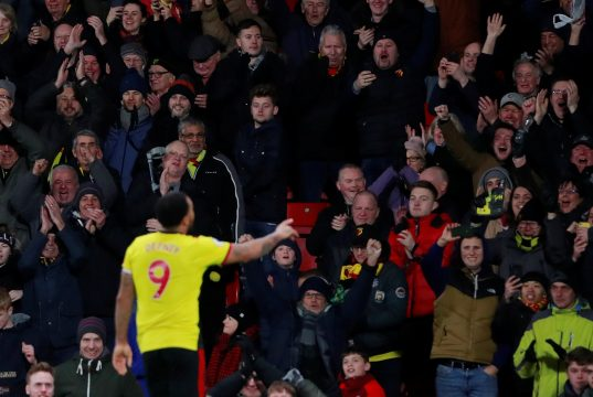 Troy Deeney: It's a shame Liverpool won't win the title normally