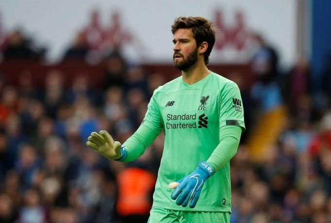 Henderson and Klopp praise outstanding Alisson after derby