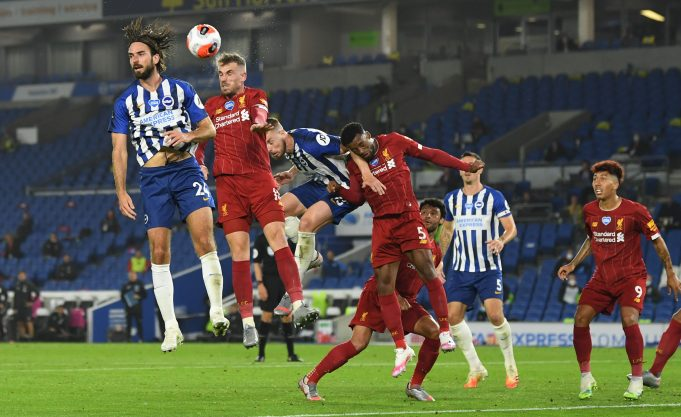 Liverpool vs Brighton Head To Head