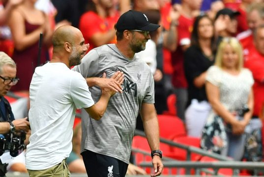 Liverpool vs Manchester City Head To Head Results & Records (H2H)