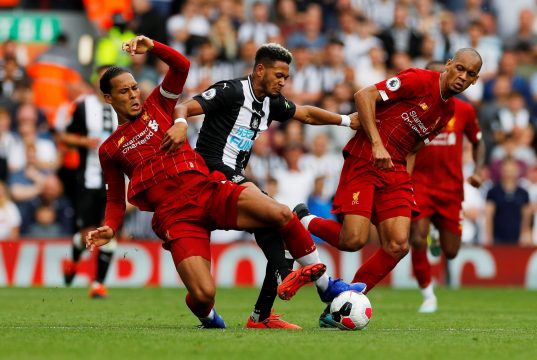 Liverpool vs Newcastle United Head To Head Results & Records (H2H)