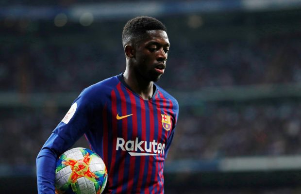 Liverpool examining Ousmane Dembele loan as Man United end transfer pursuit
