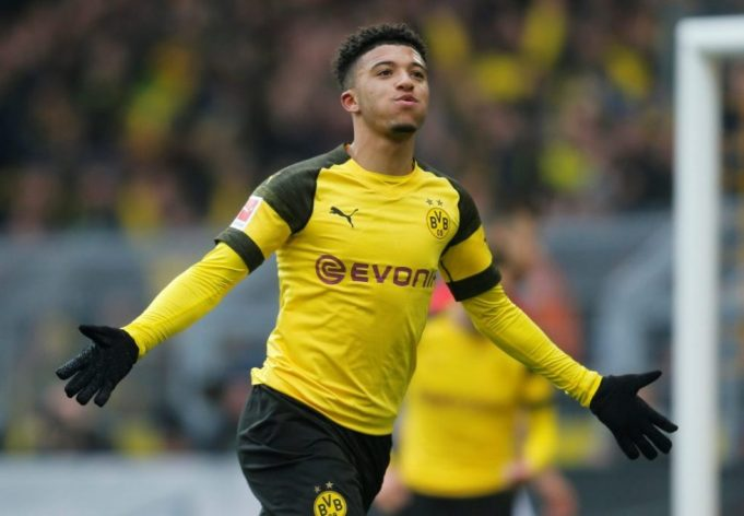 Liverpool might go for Sancho in the next transfer window