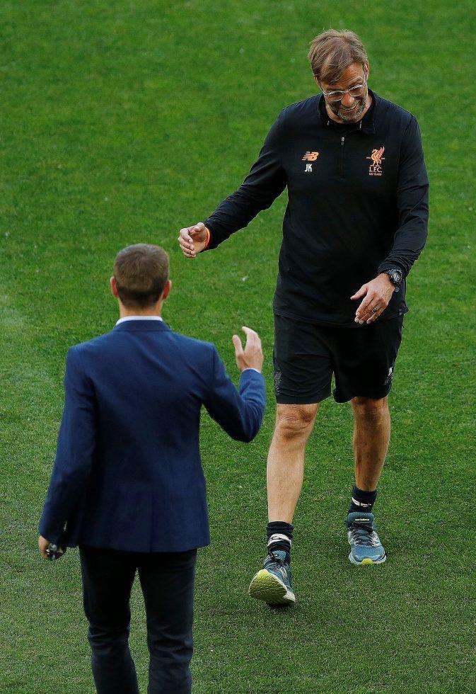 Steven Gerrard advised not to take Liverpool job after Klopp