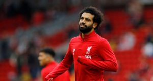 Steven Gerrard sends message to Mo Salah over equaling club record