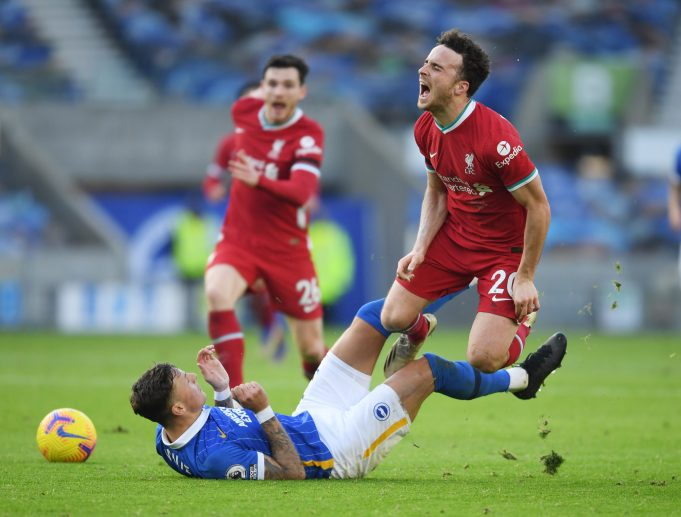 Diogo Jota details on his complicated knee injury