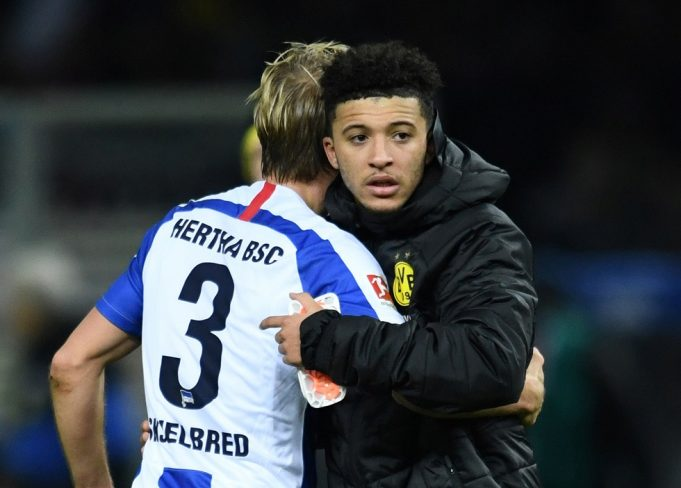 Liverpool Planning To Rival Manchester United For Jadon Sancho