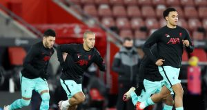Liverpool predicted line up vs Southampton