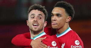 Trent Alexander-Arnold is looking for revenge on his Liverpool teammate