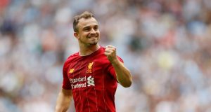 Xherdan Shaqiri frustrated under manager Jurgen Klopp